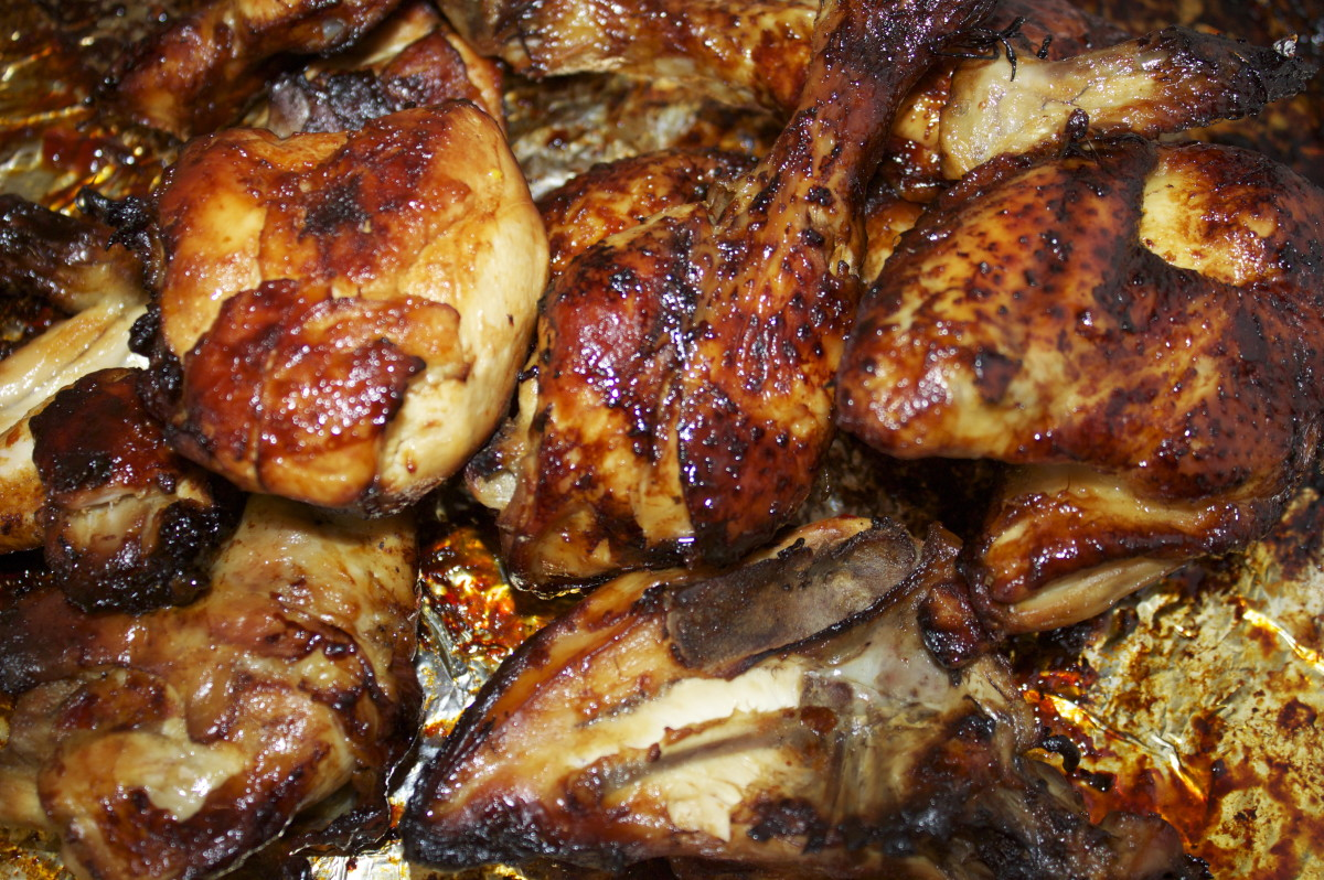 Cold Cooked Chicken Pieces