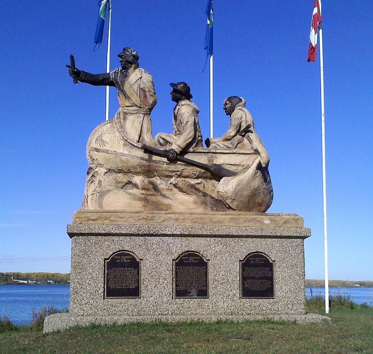 David Thompson Monument