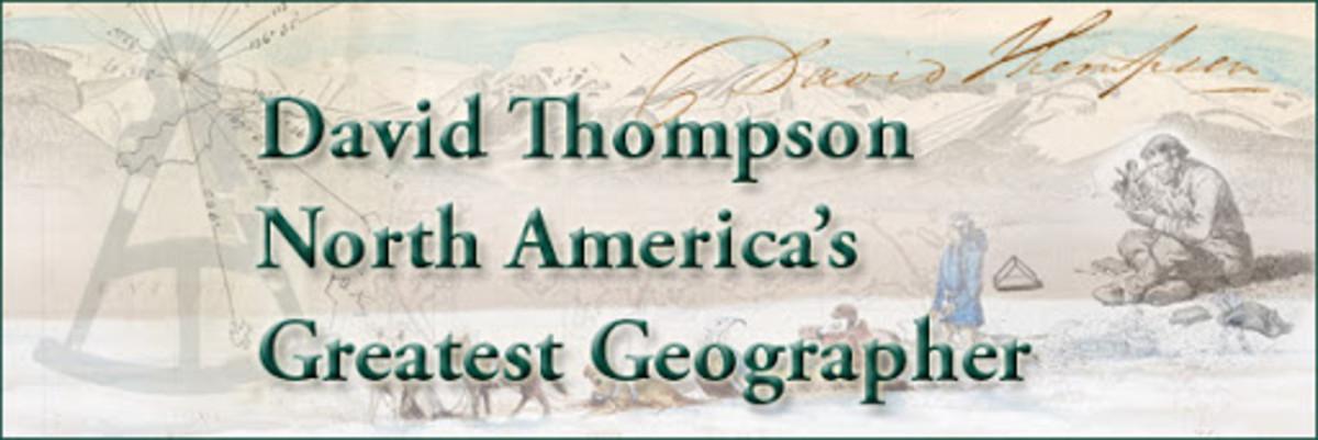 David Thompson  Canadian Explorer