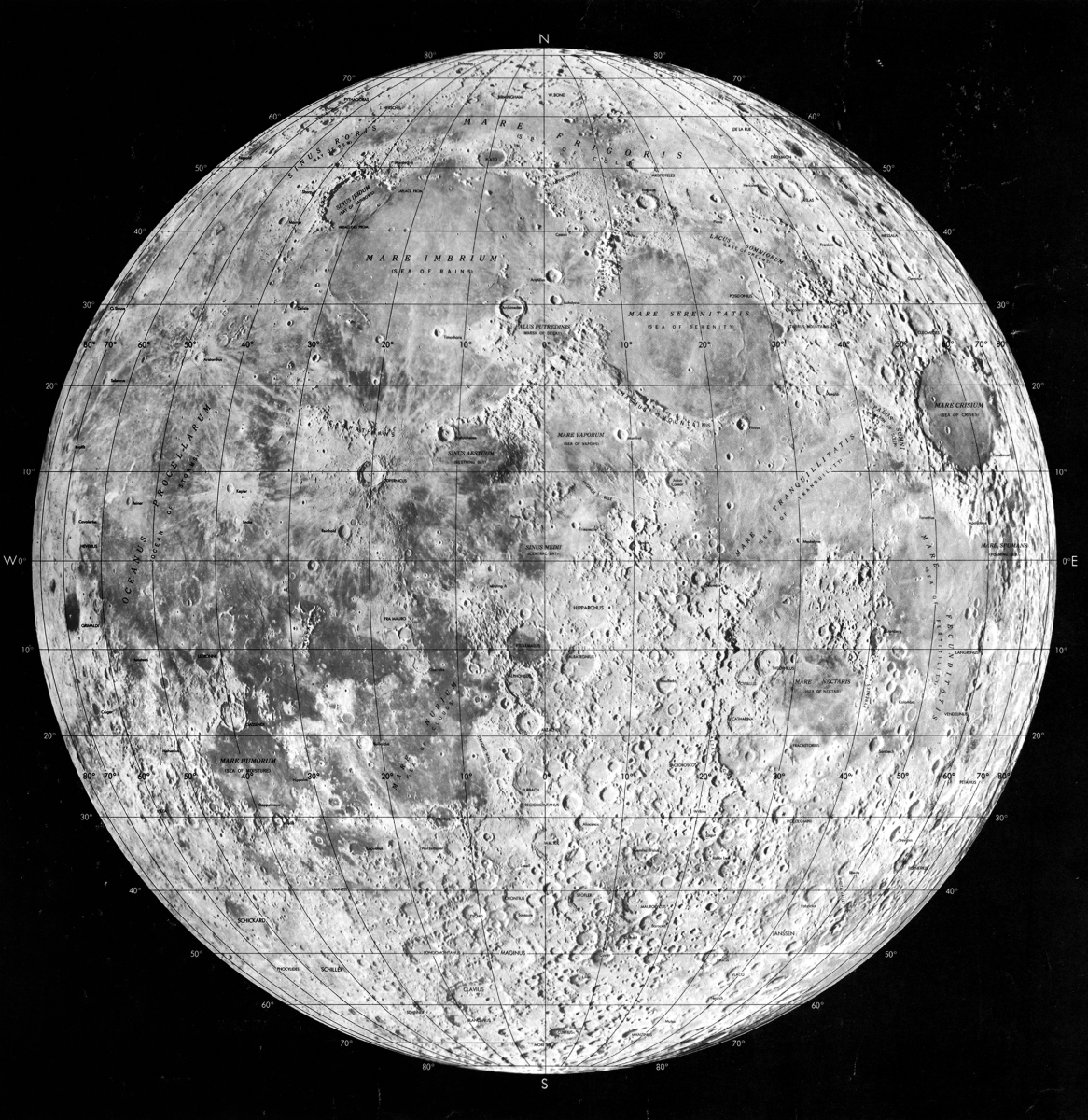 The search for ever more complete, complex, and detailed lunar maps was one of the obsessions of lunar astronomers.