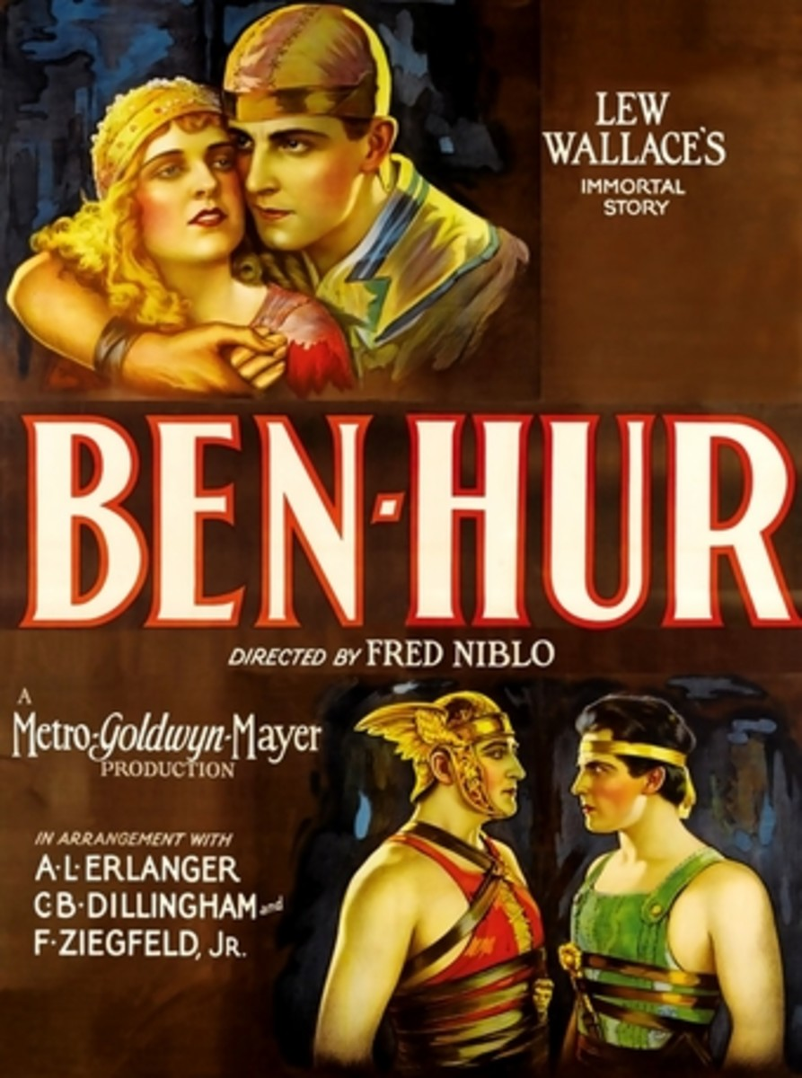 Movie poster for the 1925 Ben-Hur