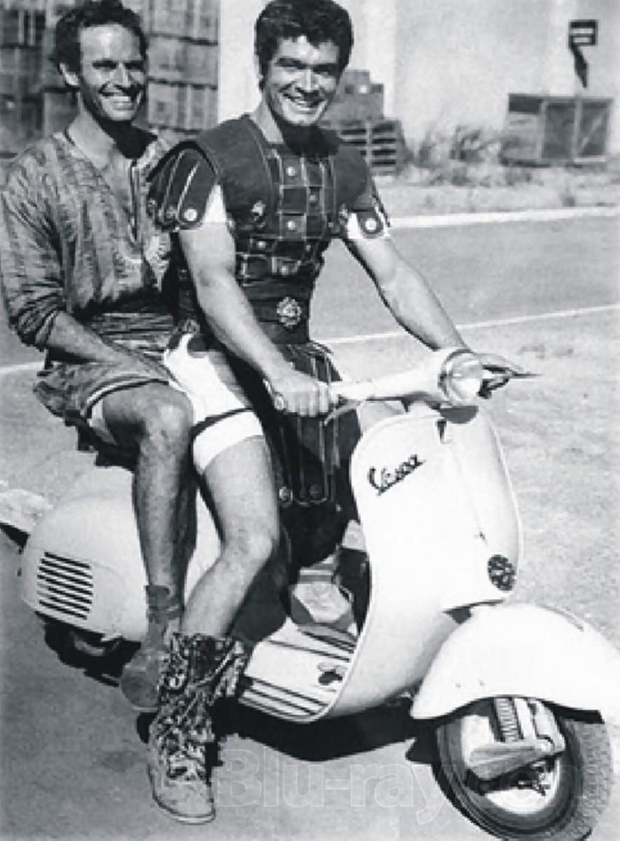 Heston with Stephen Boyd