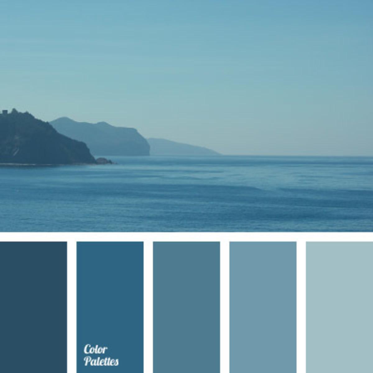 A Monochromatic Color Scheme Example