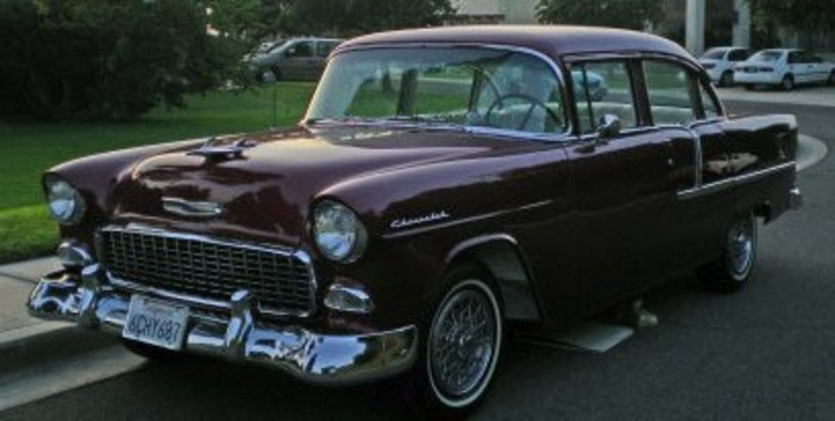 1955 Chevy Bel-Air Sedan