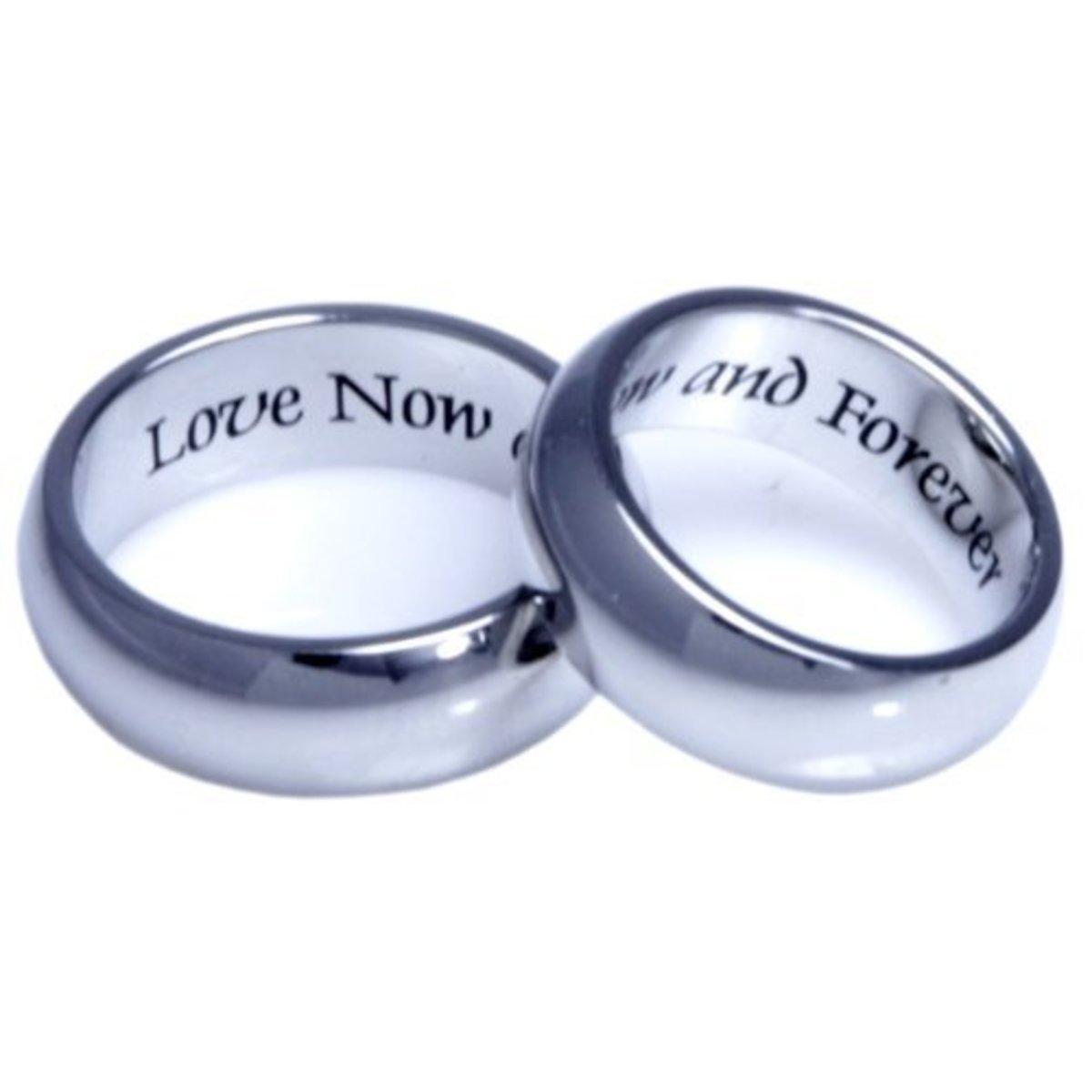 Modern Day Promise Rings
