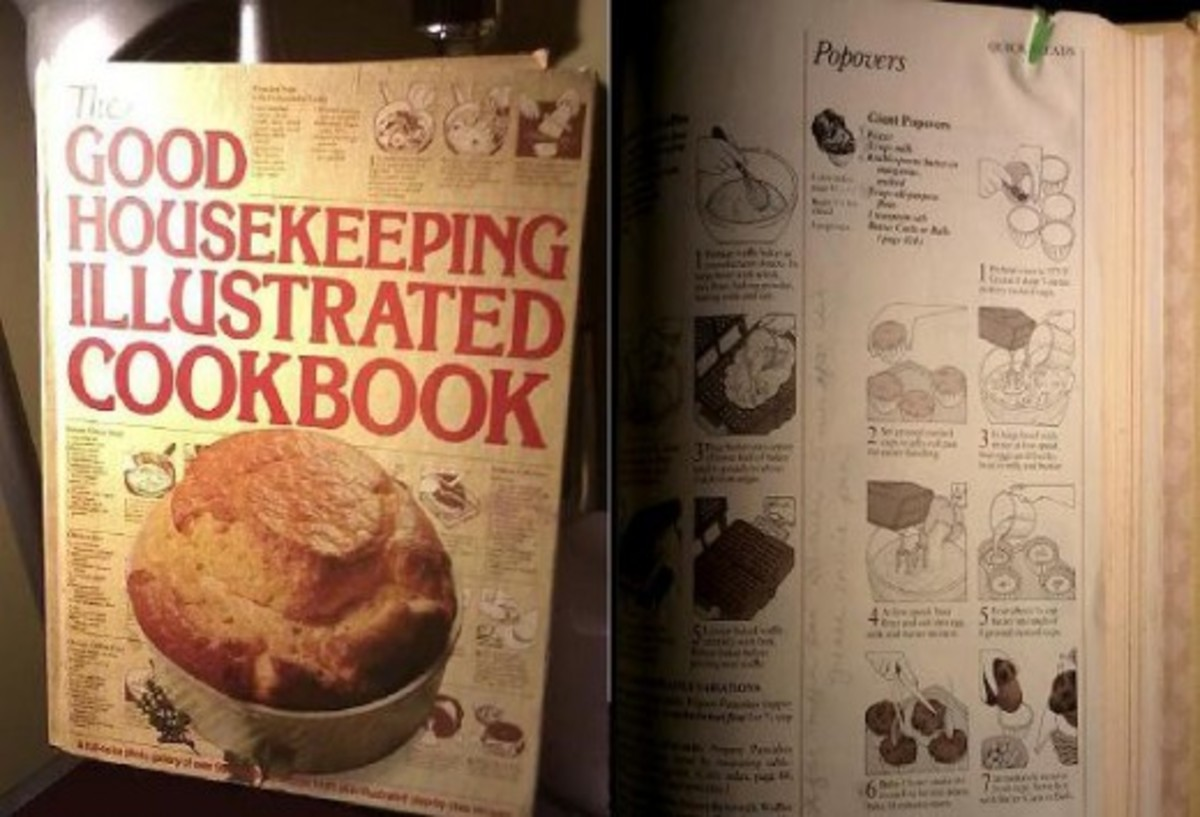 My father gave this to me for the 1st Christmas after my wedding.  He had it and thought I would enjoy cooking some of the recipes he discovered.
