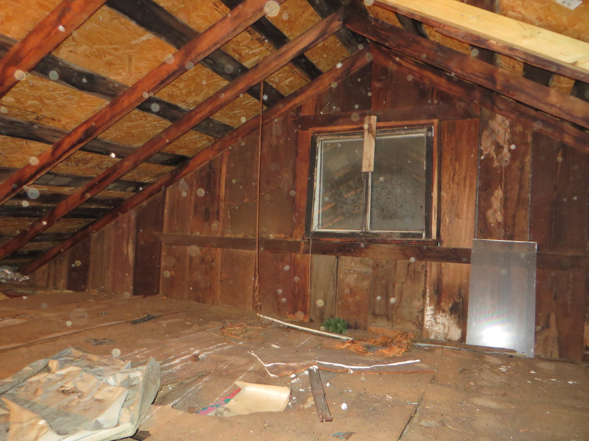 This home has very strange things that happen in its surrounding area.