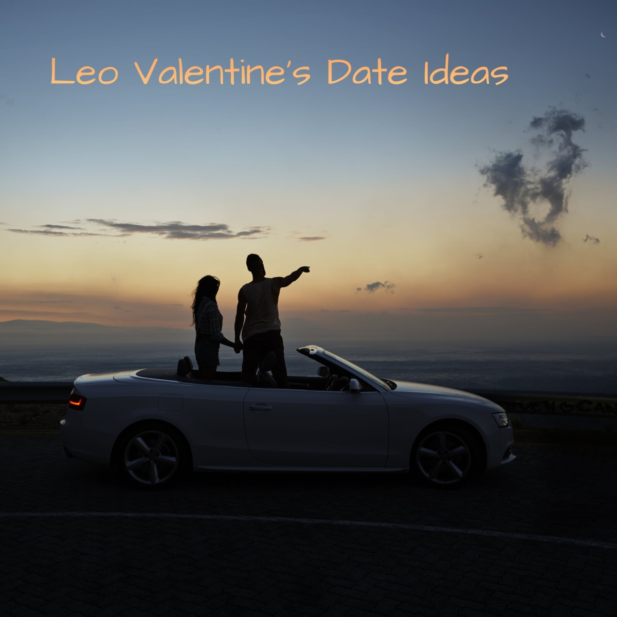 Leo needs something showy, electric, and exciting. (1) Go to a Valentine's Day party together. (2) Go out dancing. (3) Go to a drive-in movie theater. (4) Go to a trendy restaurant. (5) Go to a play, ballet, or other show.