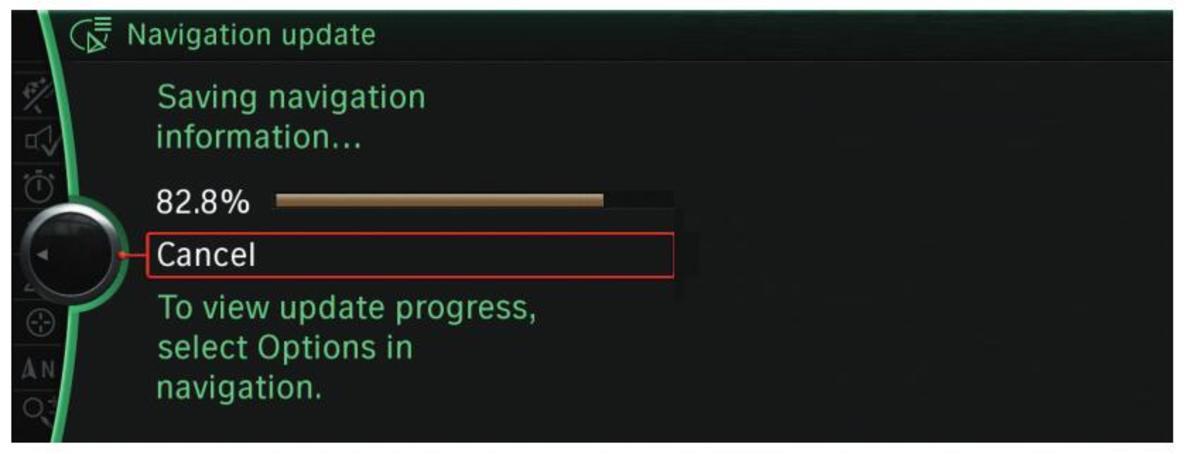 update in progress