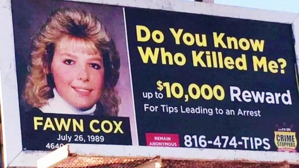 The murder of Fawn Cox remained a mystery for more than 30 years through use of DNA technology but the person who killed her was the last person the family would have thought of. Photo courtesy of MSN.