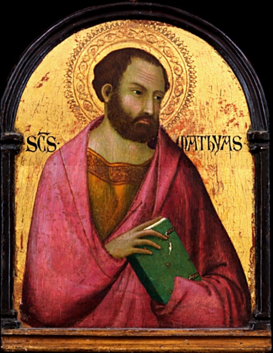Saint Matthias (circa 1317-1319)