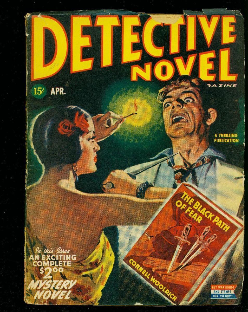 Pulp Detective Noir Example Poster