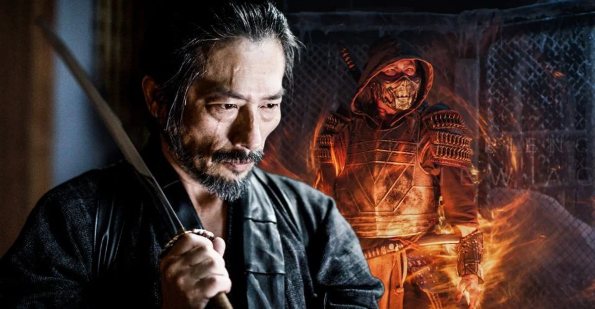 "Hiroyuki Sanada was cast as Scorpion in 2021's ""Mortal Kombat."""