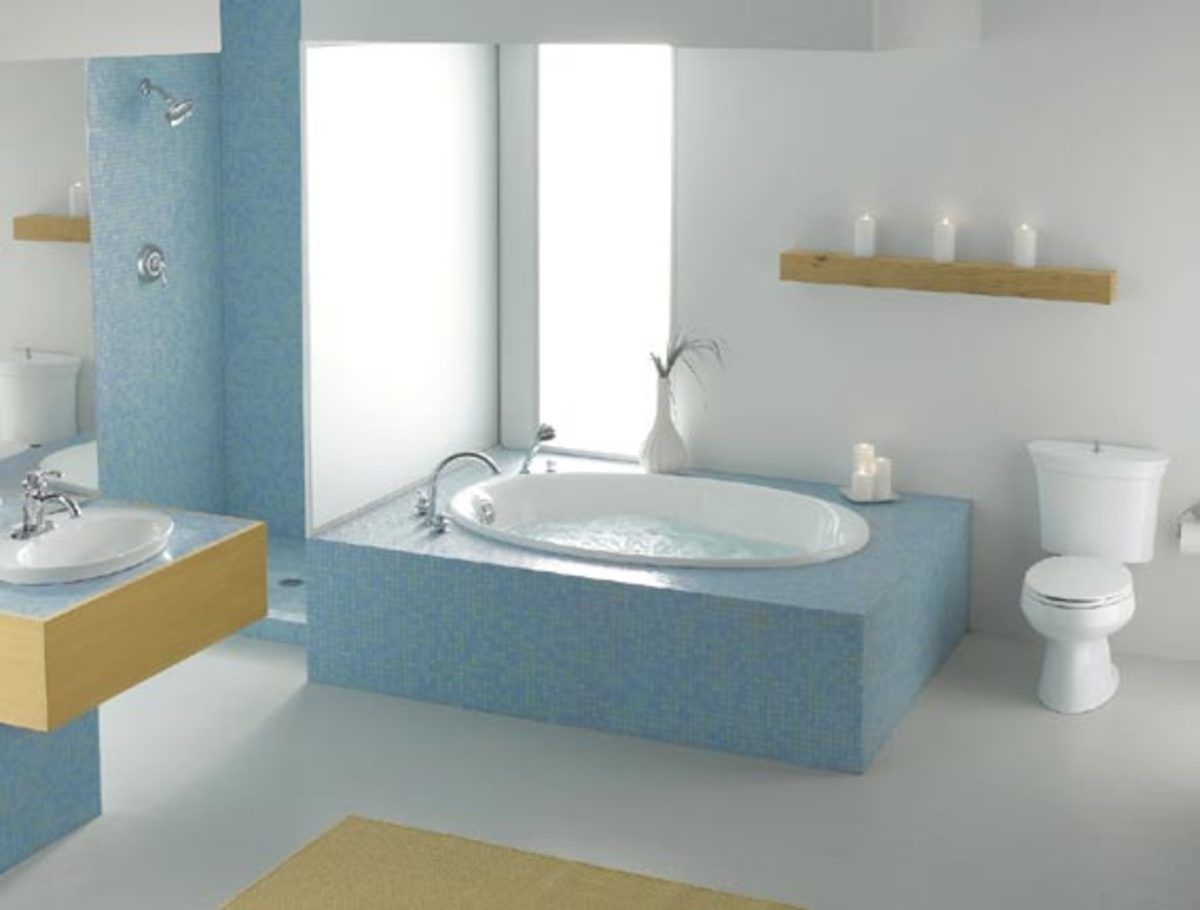 Turn your existing bathroom into a relaxing spa for Turn your bathroom into a spa