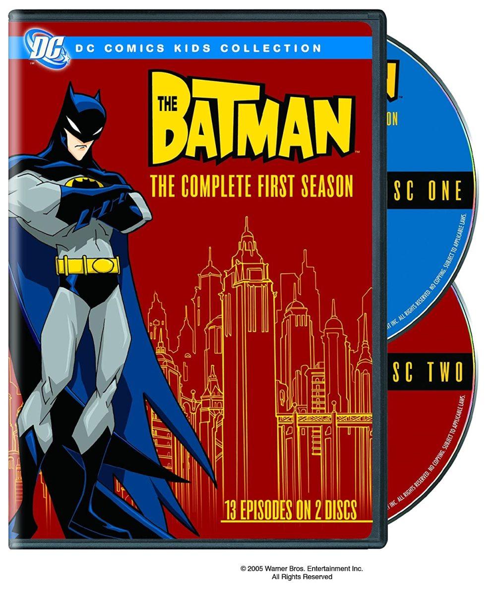 """The Batman"" Season 1 official DVD cover art."