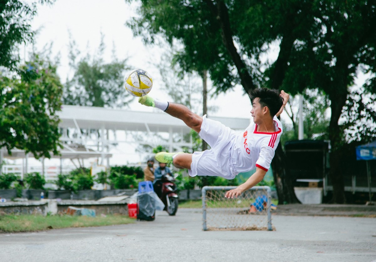 Skilled Football Player