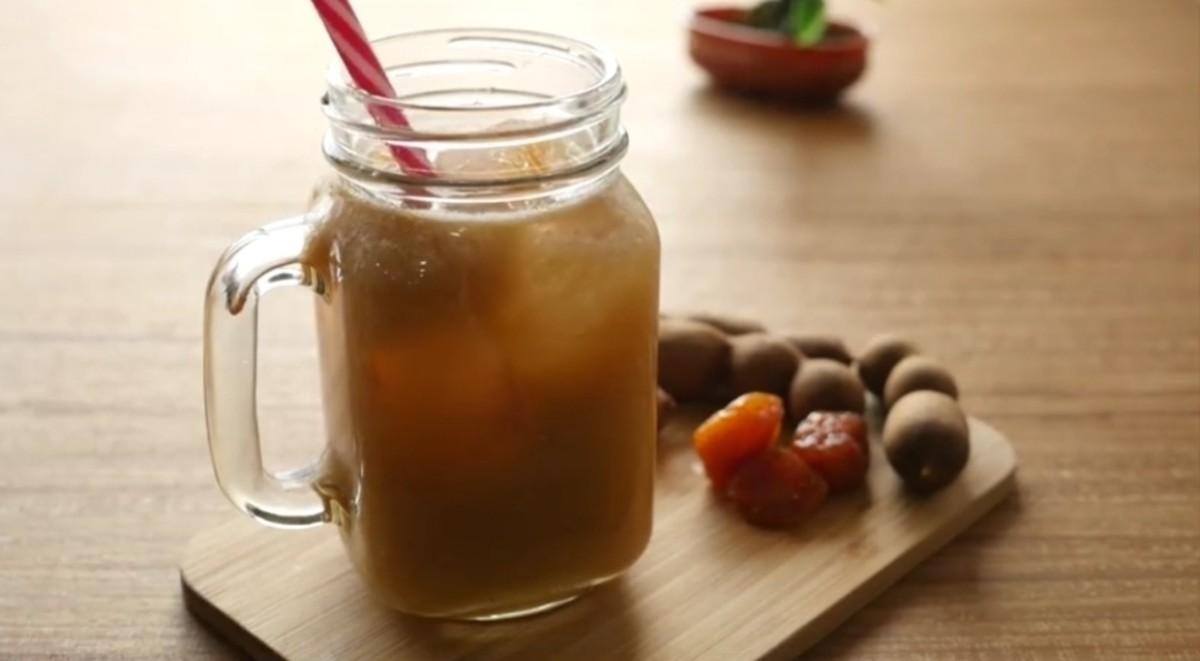 Dried plums & Tamarind pulp sorbet