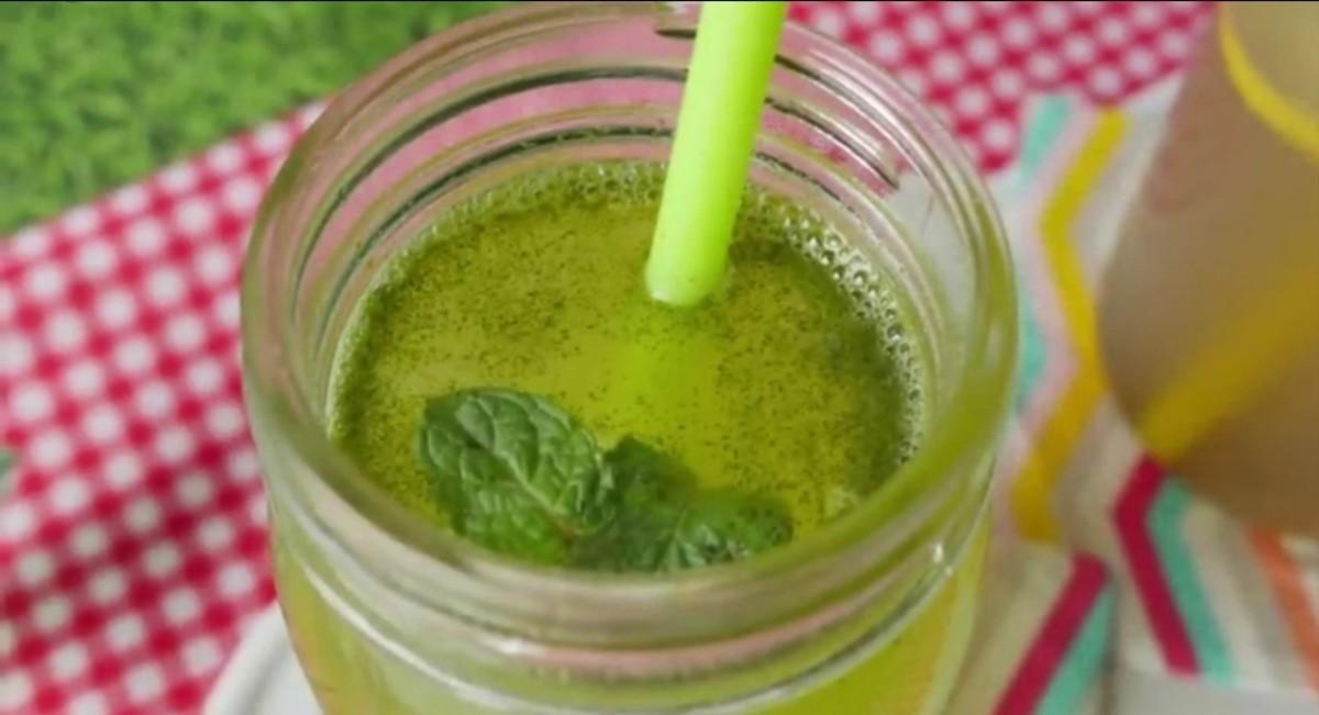 Mint Margarita Juice