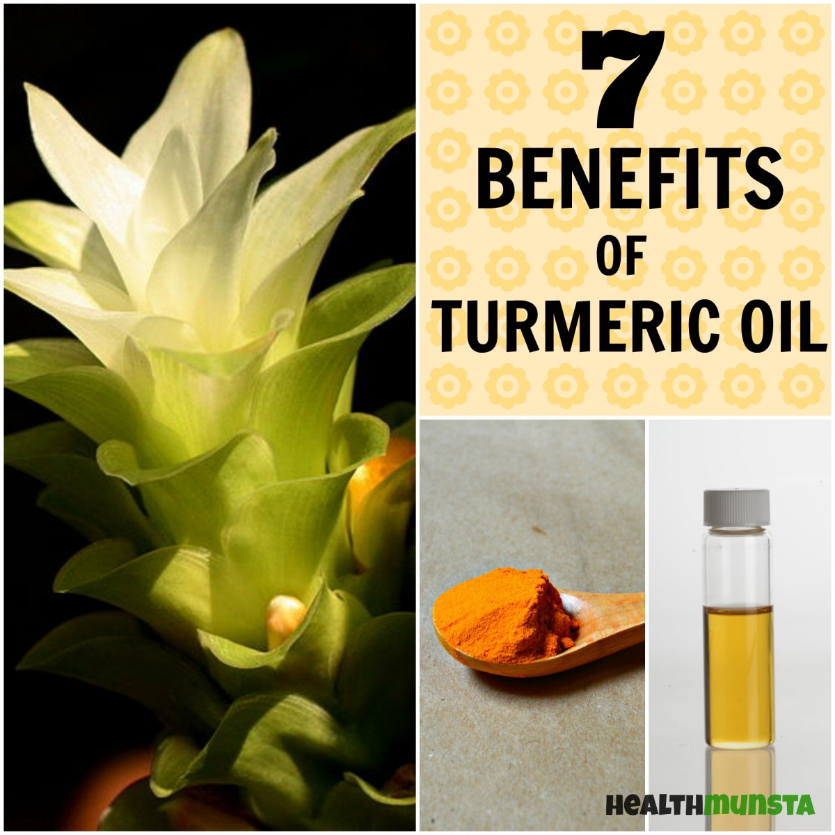 Healing Naturally: 7 Benefits of Turmeric Oil