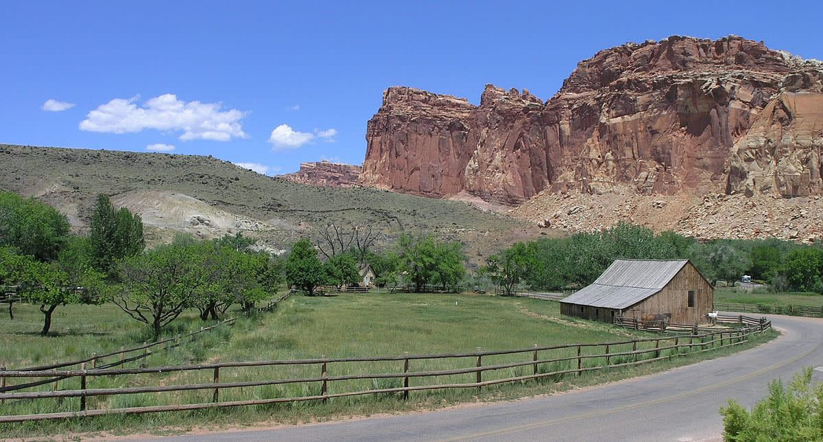 Gifford Ranch in Capitol Reef NP