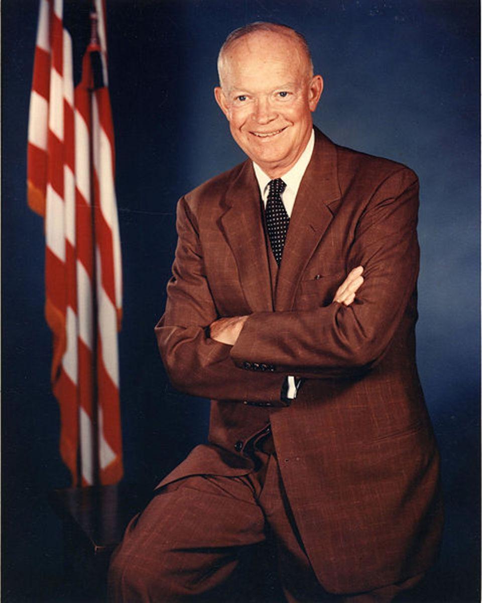 President Dwight D. Eisenhower Official Portrait