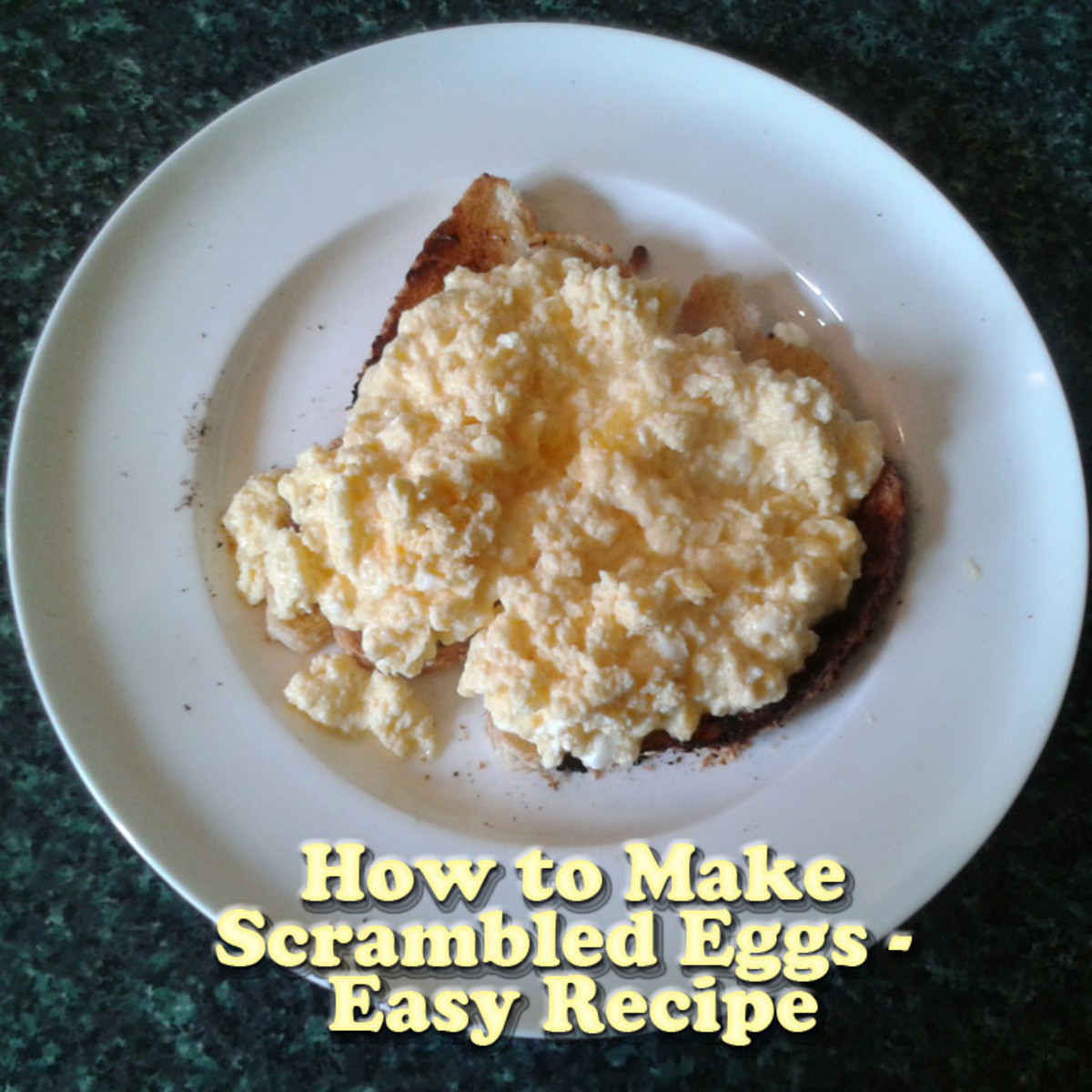 How to Make Scrambled Eggs - Easy Recipe