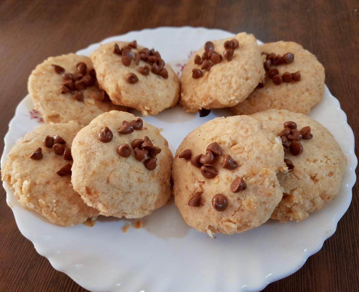 Homemade chocolate chips cookies