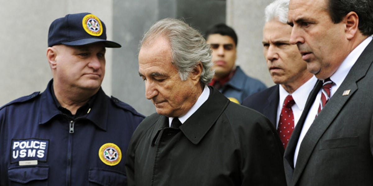 Madoff Arrested