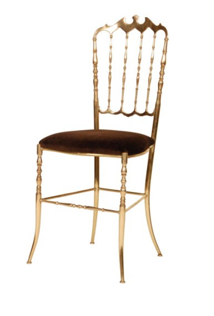 The Brass Chiavari Chair, my new little beauty