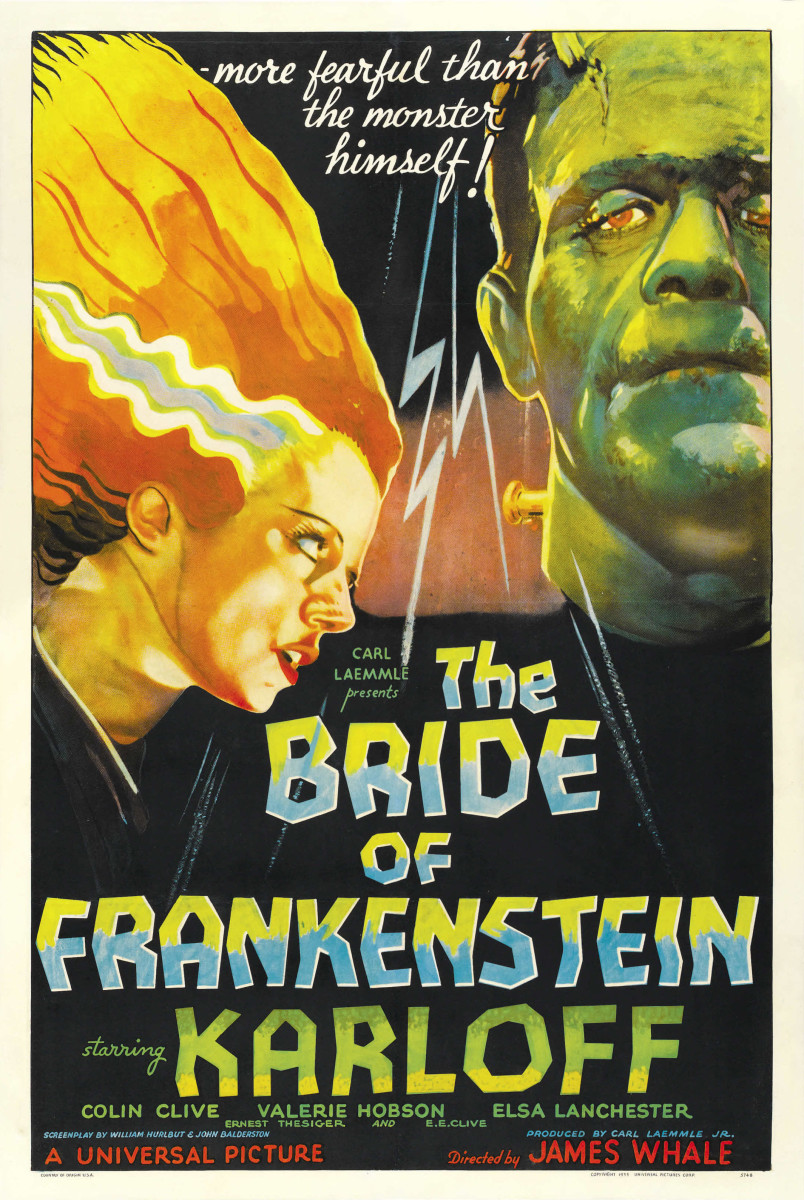 The Bride of Frankenstein—a 1935 science fiction horror film starring Boris Karloff as the Monster—was the first sequel to the 1931 film Frankenstein.