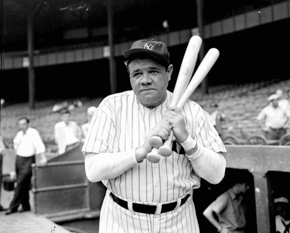 In 1935, Babe Ruth hit his 714th and final career home run at Forbes Field in Pittsburgh, Pennsylvania.