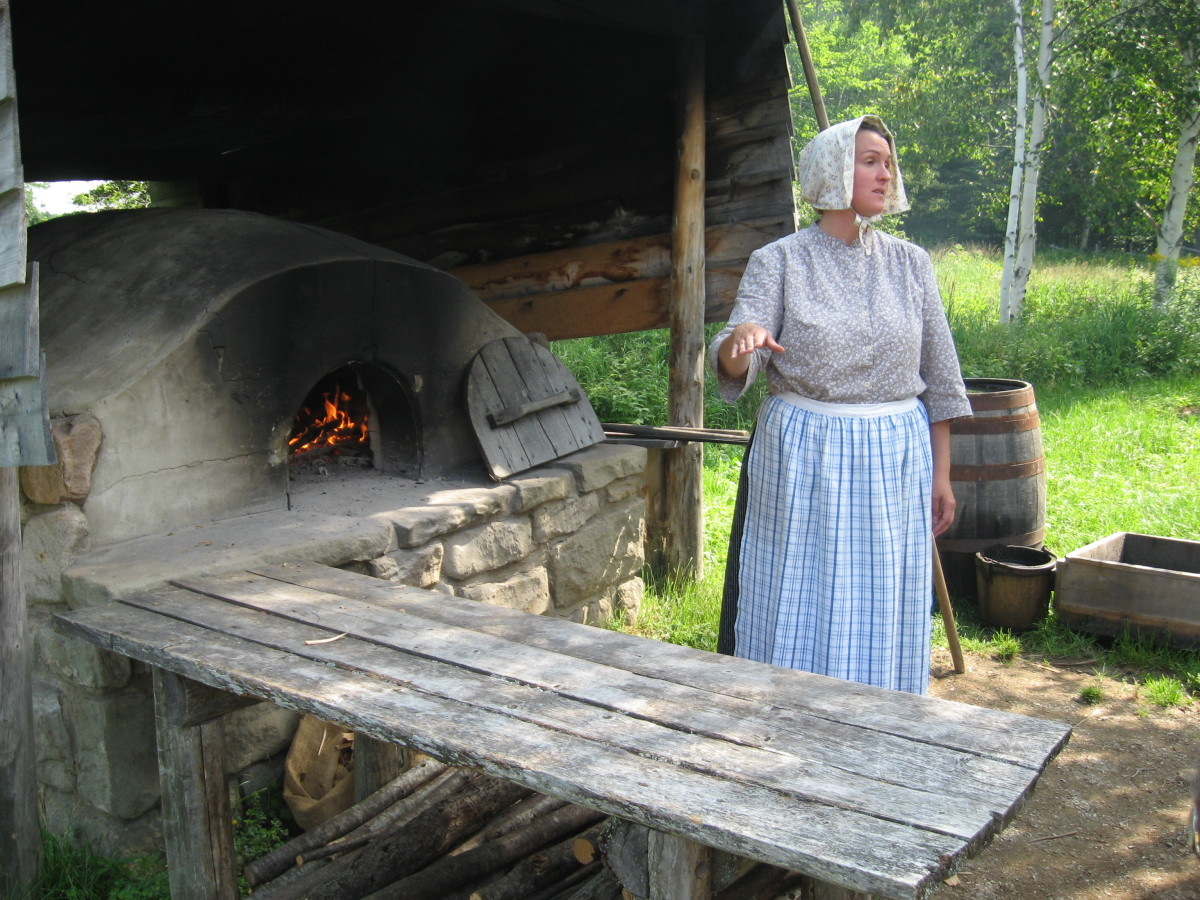 Photo taken at the Acadian Village in New Brunswick, Canada.
