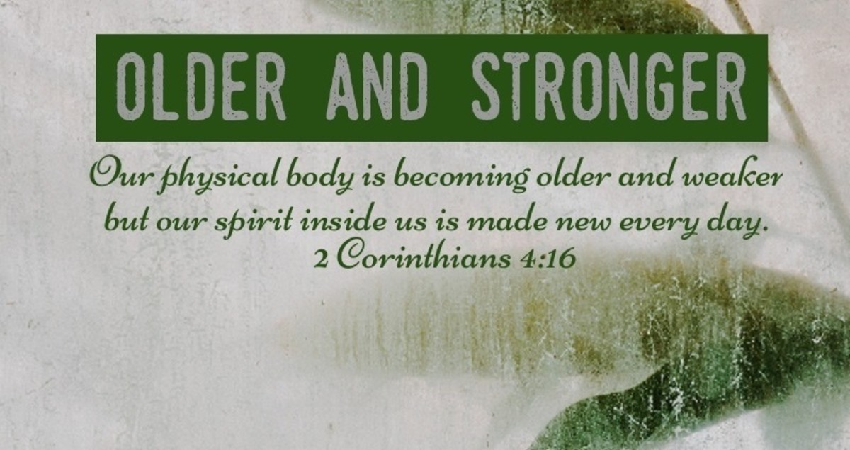 Growing older and stronger