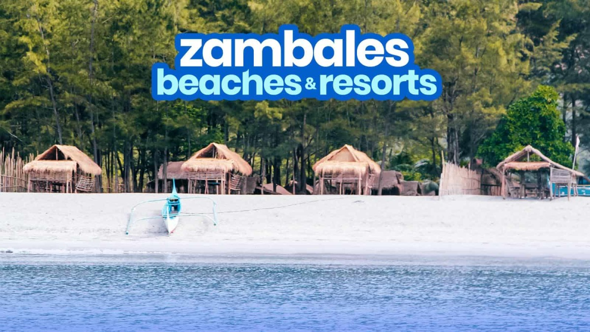 Top 10 Most Beautiful Beaches and Island in Zambales (Philippines)