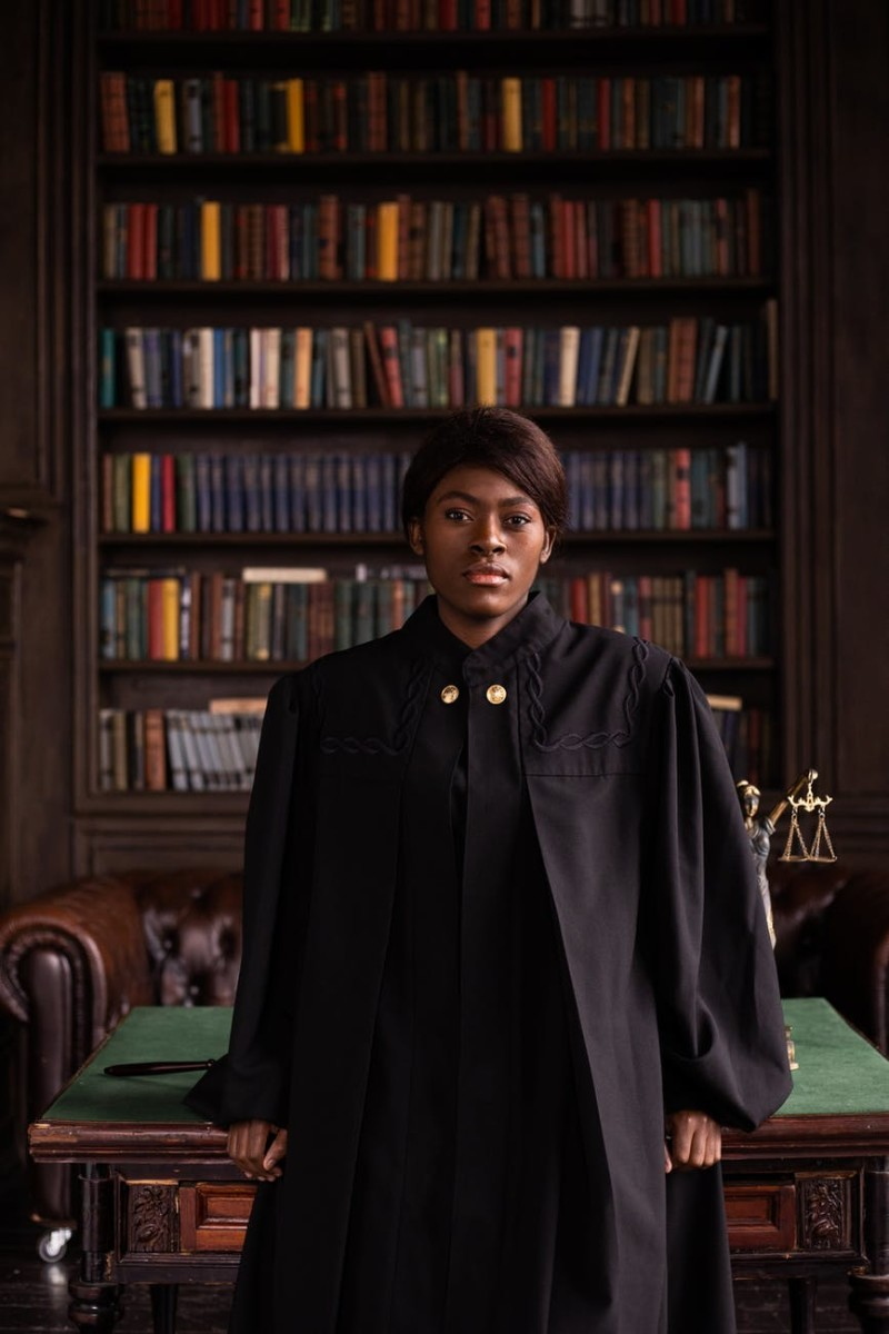 On second thought, black robes do make a strong, fair statement.