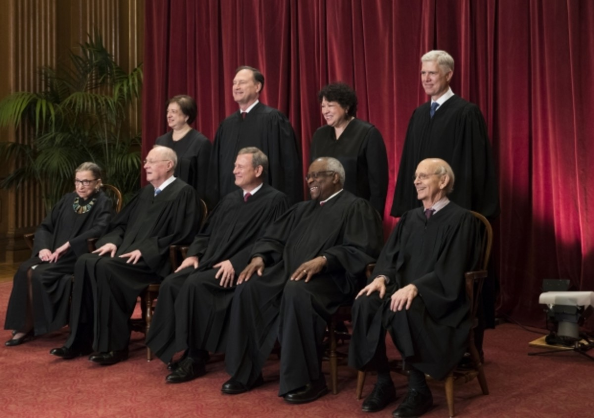 The United States Supreme Court Justices.