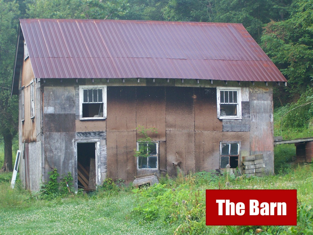 The barn in which Nichole was allegedly murdered.