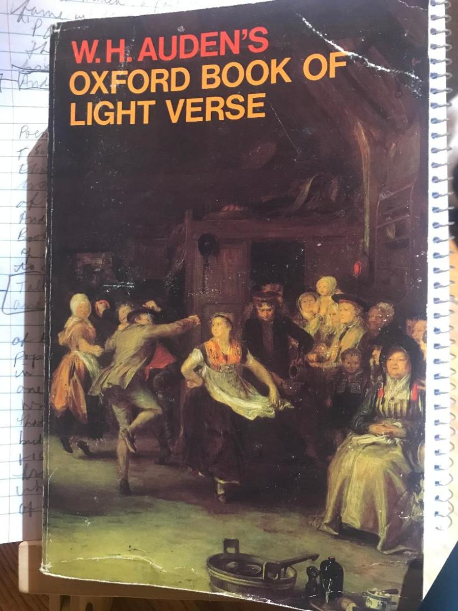 a-book-report-on-audens-light-verse-collection