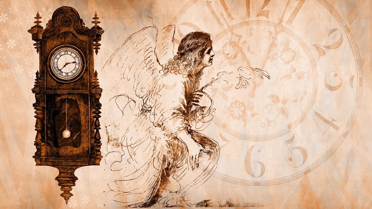 Time Clock Angel