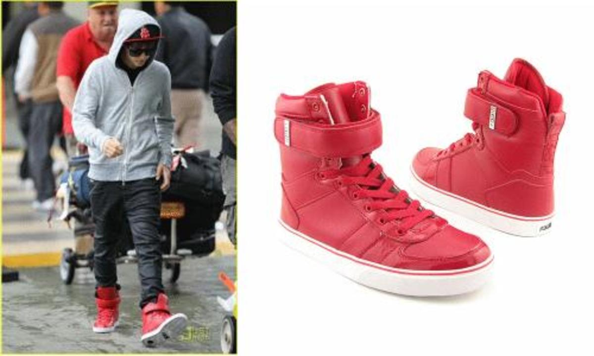 What Size Shoe Does Justin Bieber Wear