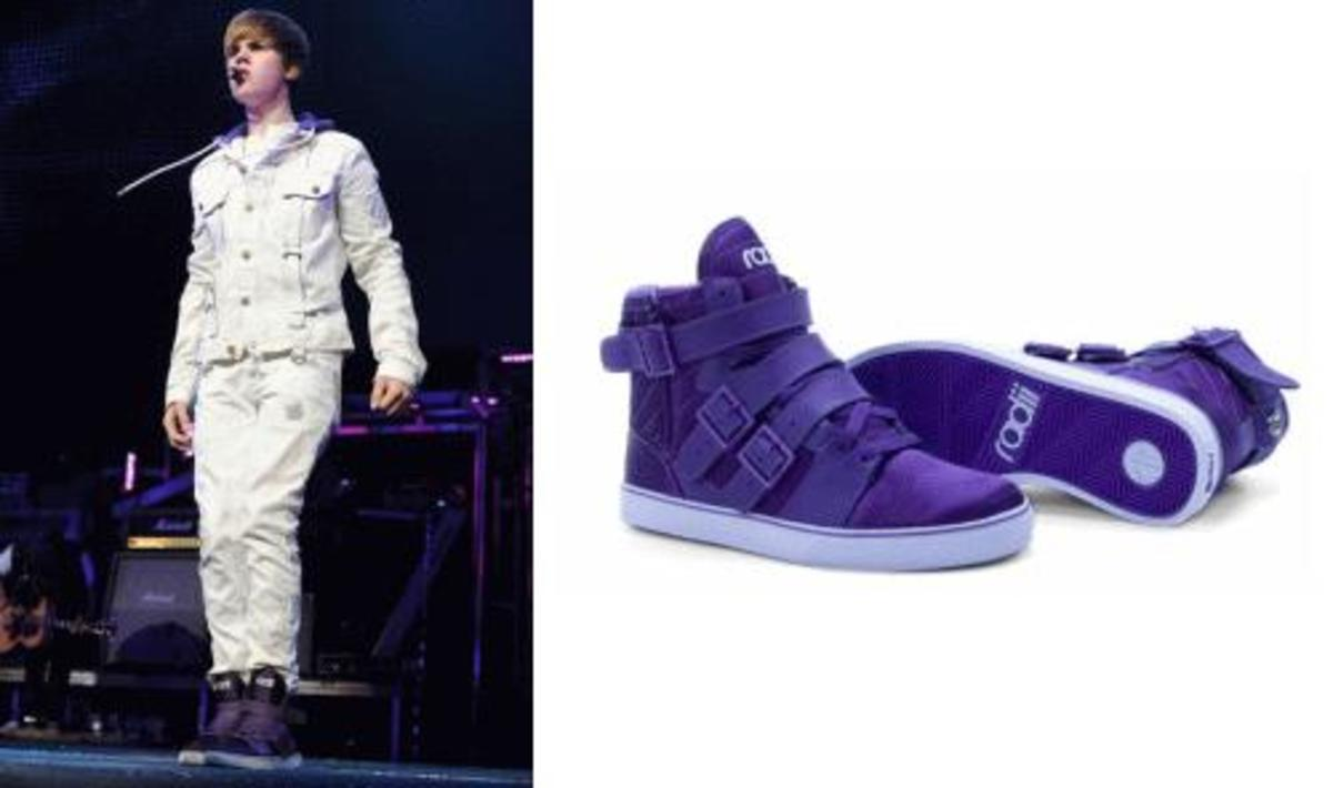 Radii Straight Jacket in Purple.