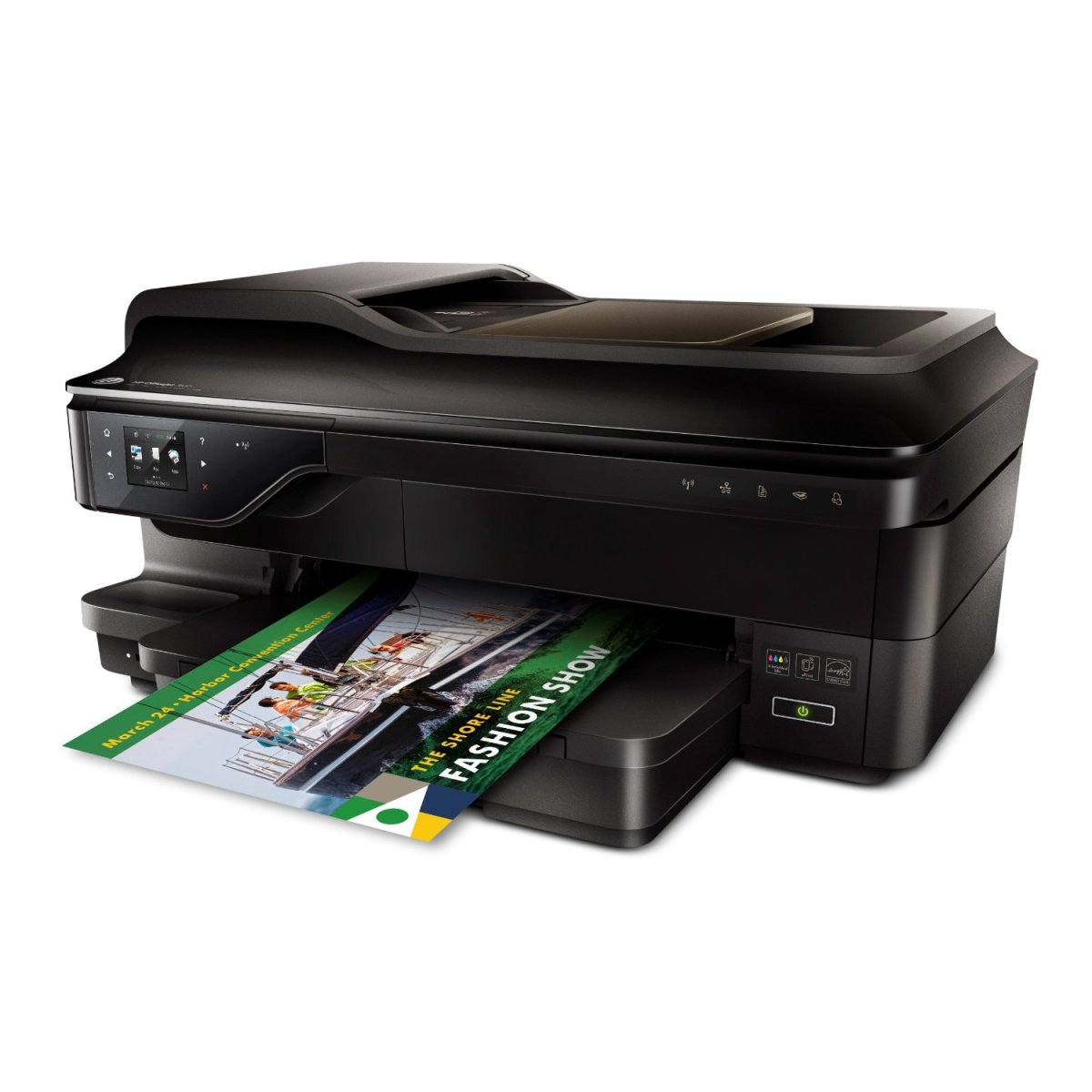 HP OJ 7610 Wireless Color Photo Printer with Scanner, Copier and Fax