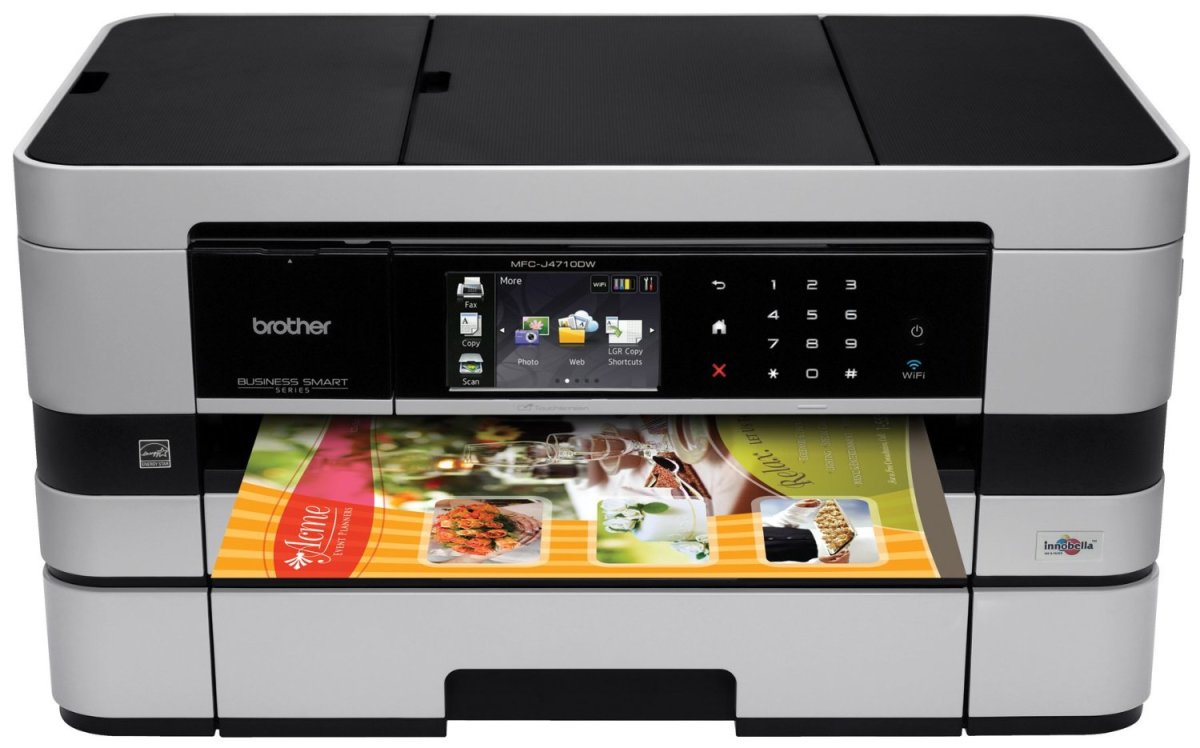 Brother Printer MFCJ4710DW Wireless