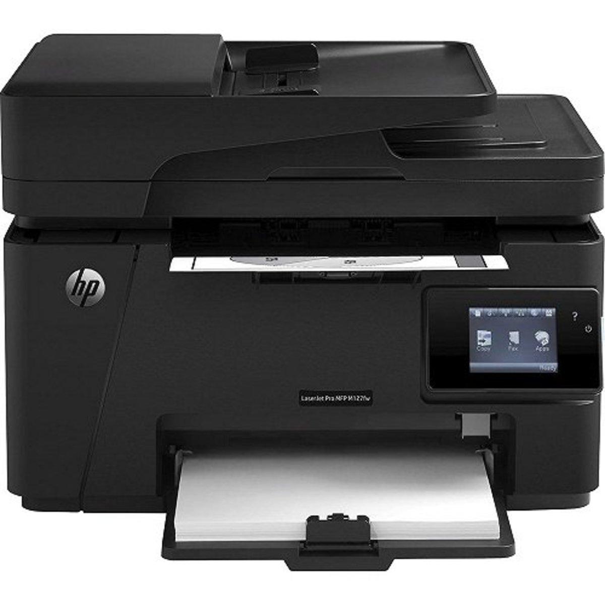 HP M127FW Wireless Monochrome Laserjet Printer
