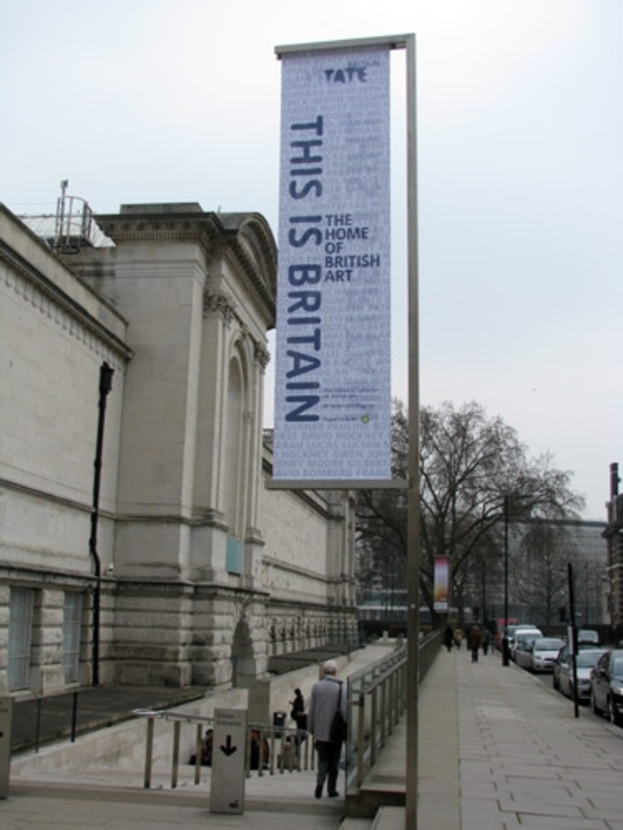 Tate Britain - the Home of British Art