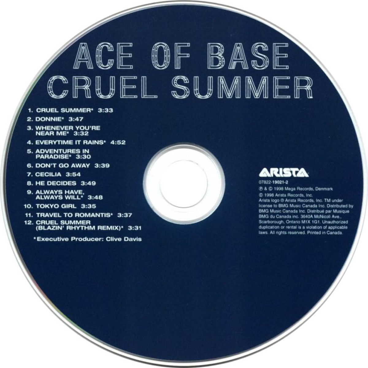 "Review: ""Cruel Summer"" by Swedish Pop Music Group Ace of Base"