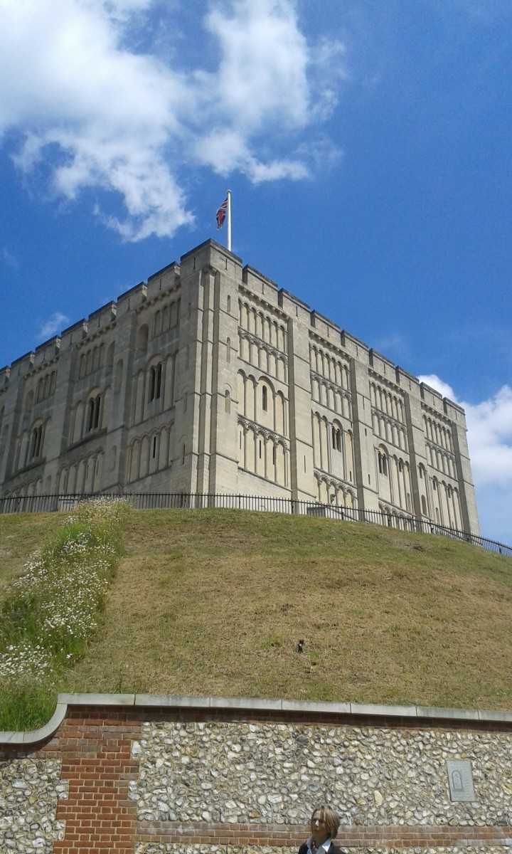 Norwich Castle, High on the Hill