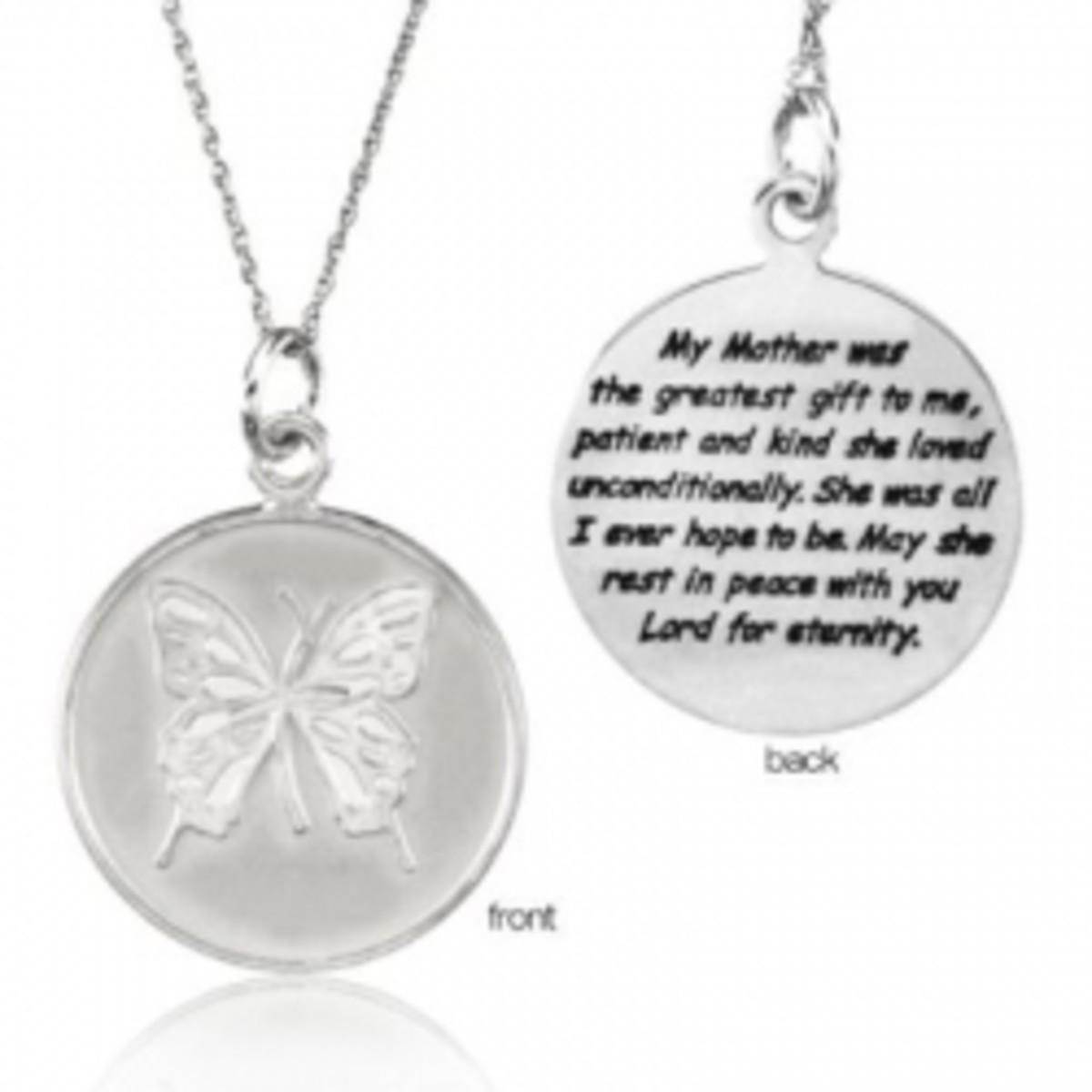 Mother's Memorial Necklace