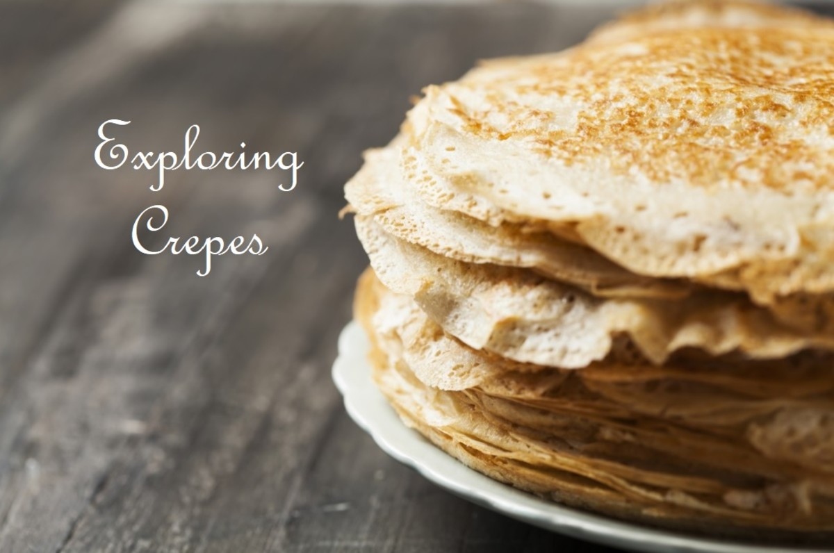 """Crêpes, those thin, delicate French """"pancakes,"""" are actually quite easy to make."""