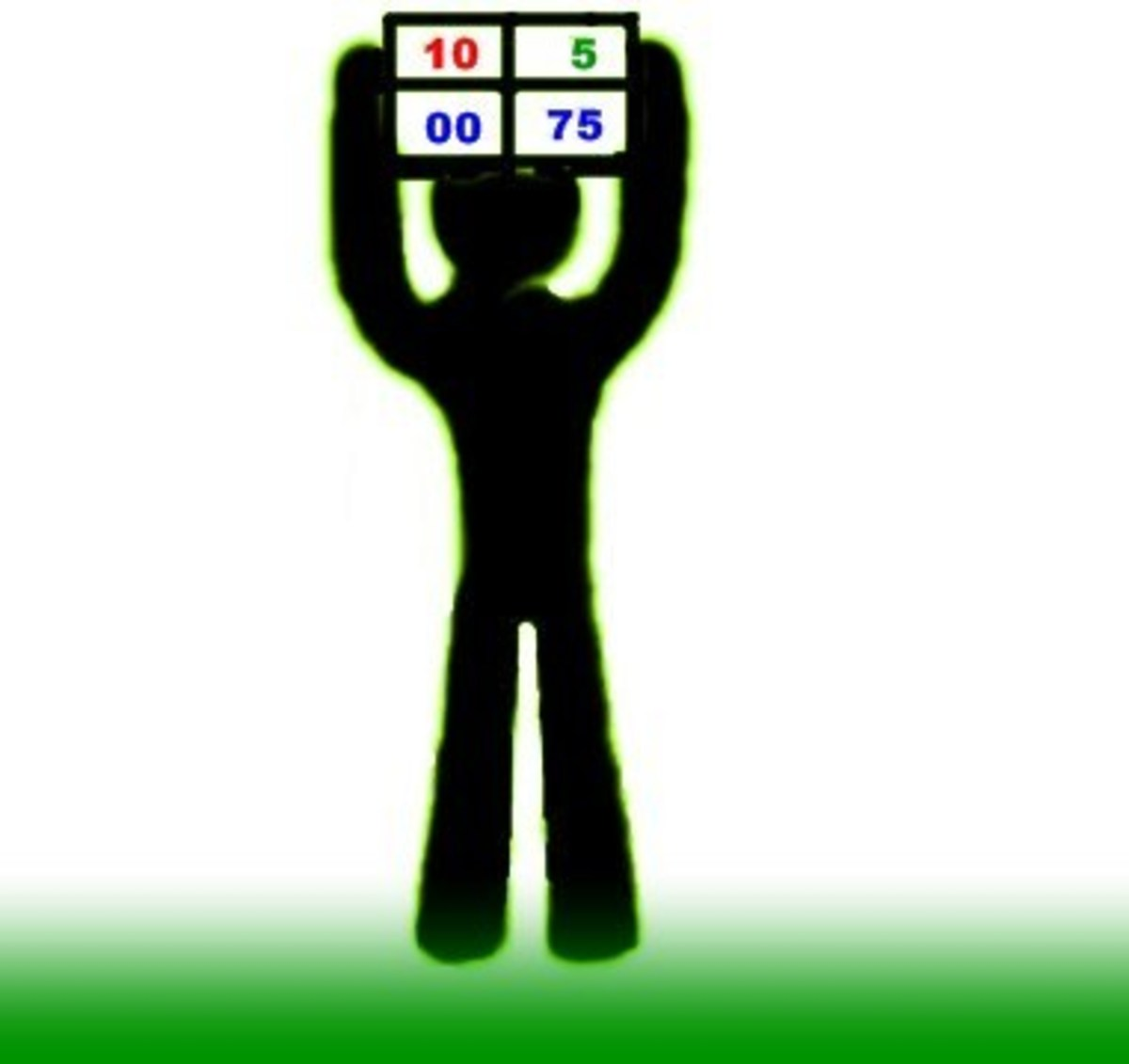 Raising the Referee Board–Player Substitution/Added Time